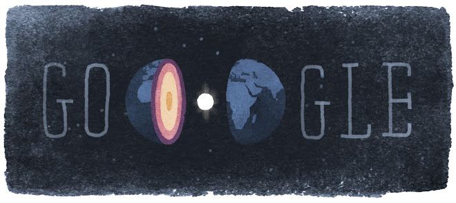 Google Doodle ter ere van seismologe Inge Lehmann