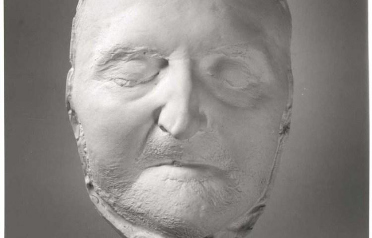 Toon Dupuis, Dodenmasker van Abraham Kuyper, 1920. Collectie Vrije Universiteit.