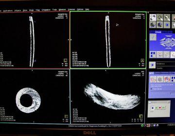 Middeleeuwse blokfluit door röntgen-scan