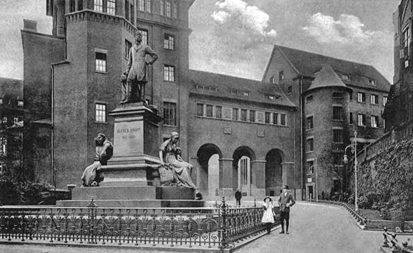 Standbeeld ter ere van Alfred Krupp