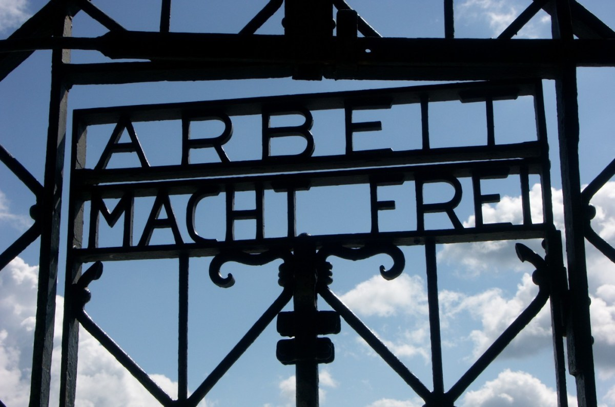 Gestolen hek Dachau teruggevonden