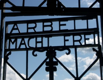 Toegangspoort van Dachau - cc