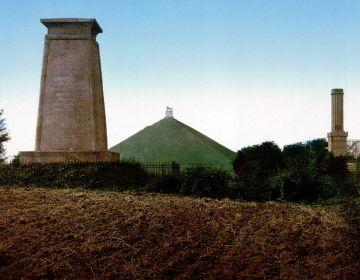De monumenten en de Leeuw van Waterloo - cc