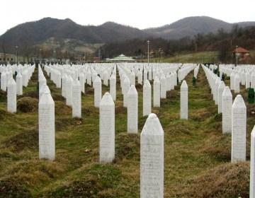 Herdenkingsplek bij Srebrenica - cc