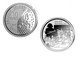 Waterloo munt van 10 euro
