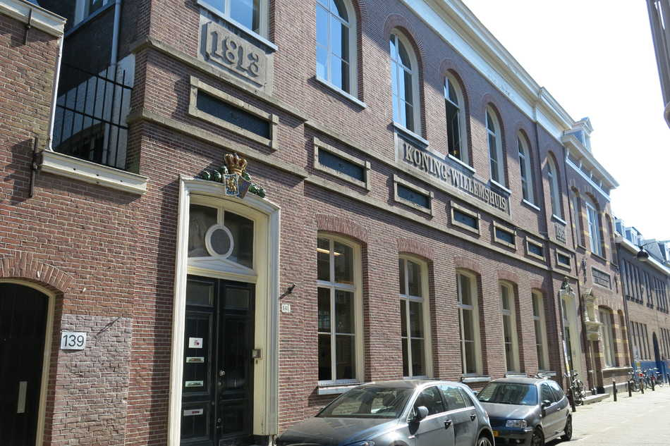 Koning-Willemshuis, Egelantiersstraat 141, anno 2015