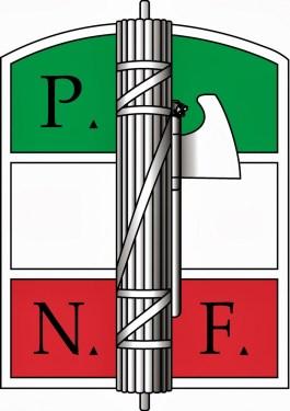 Logo van de Partito Nazionale Fascista (PNF)