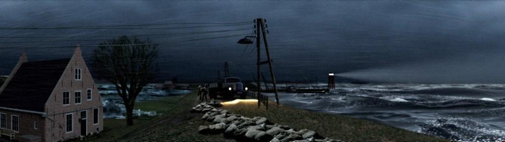 Afbeelding uit de Delta Experience (Neeltje Jans)