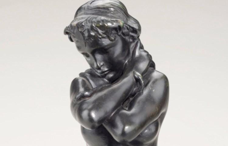Jong meisje met slang - Auguste Rodin (detail)