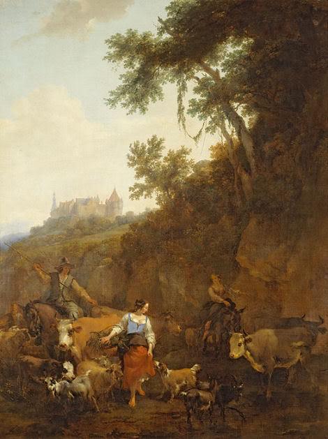 Landschap met kasteel Bentheim - Jacob van Ruisdael , 1656 (Mauritshuis)