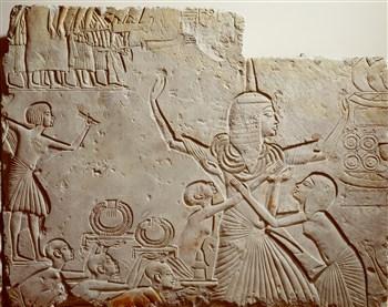 Reliëf uit graf Horemheb (RMO)