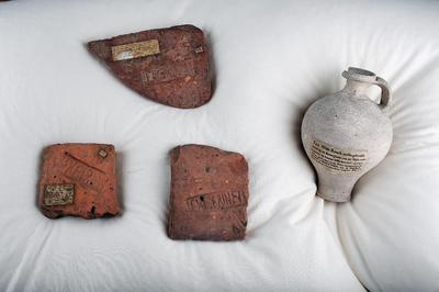 Romeinse objecten uit de collectie van Meermanno, afkomstig van de Brittenburg?