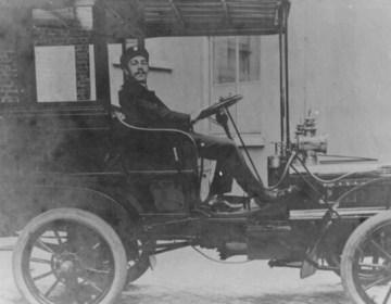 De eerste auto van Roosendaal (1908)