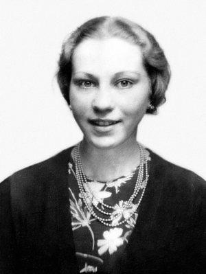 Marie Jalowicz Simon in de jaren 1940