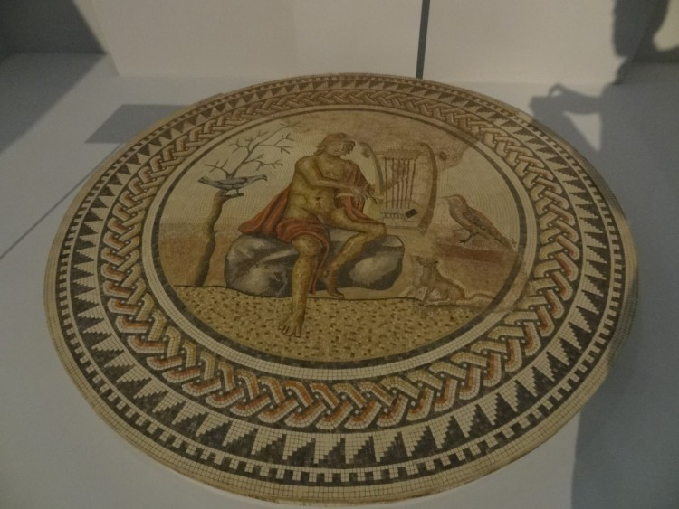 Orpheus met harp