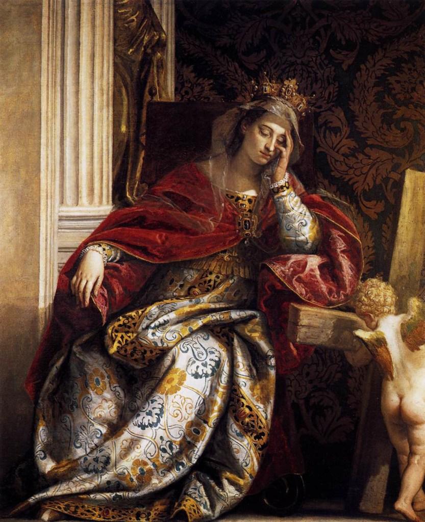 De droom van de heilige Helena - Paolo Veronese