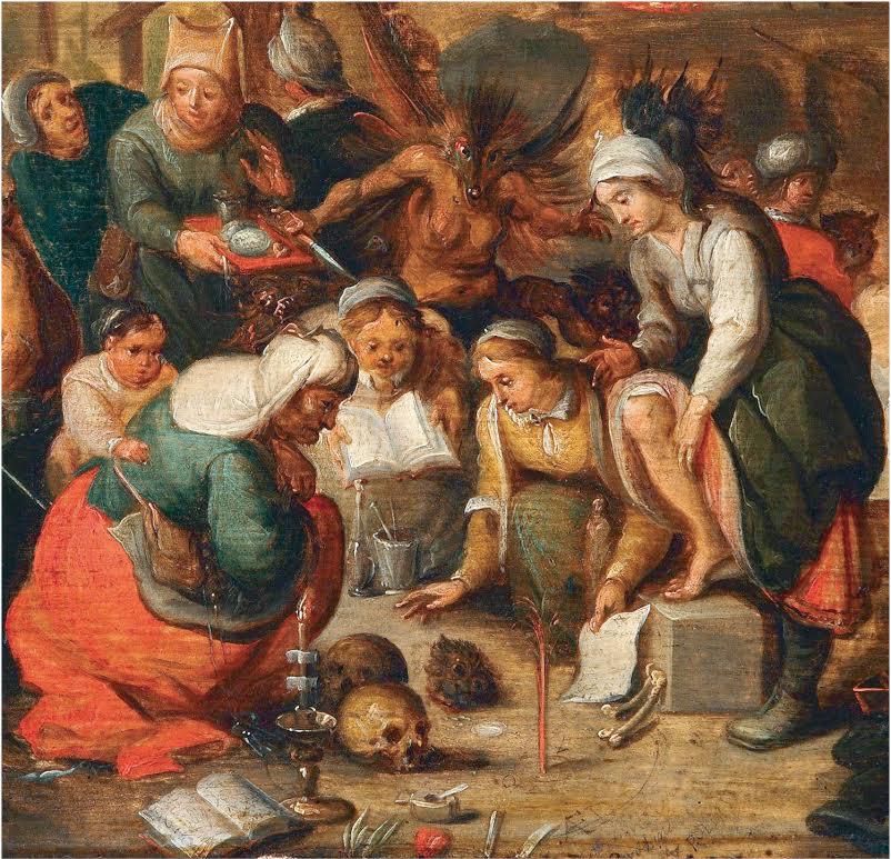 De heksenkeuken - Frans Francken