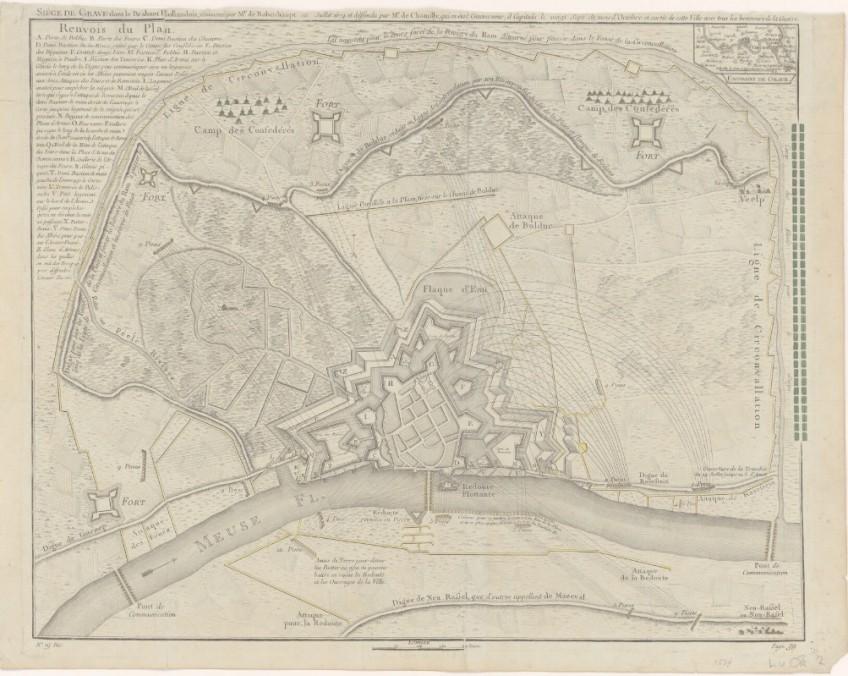 Het beleg van Grave in 1674