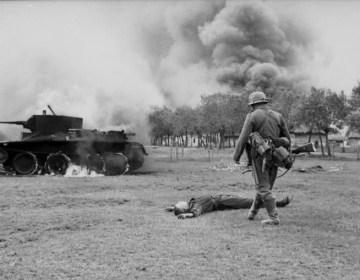 Rode Leger - Uitgeschakelde Sovjet-tank