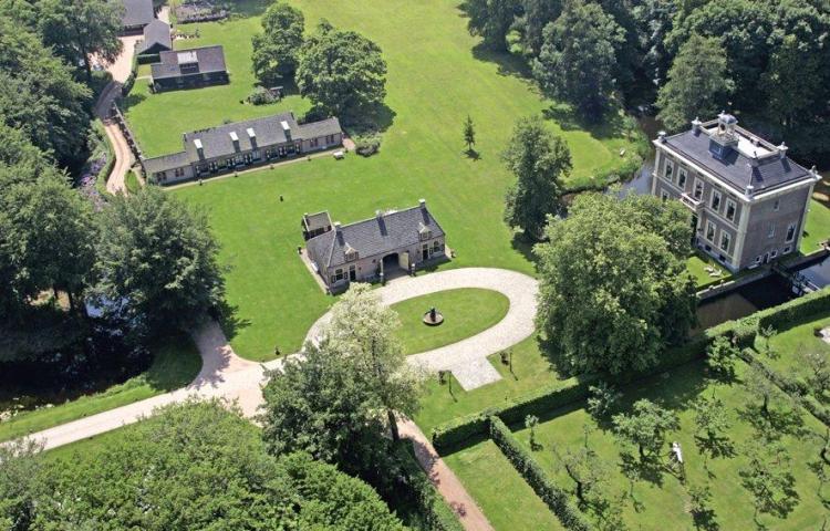 Luchtfoto van Landgoed Den Alerdinck. Bron: www.alerdinck.nl