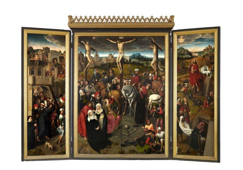 Altaartriptiek Hans Memling 1491, St. Annen Museum (C) Bildarchiv Lübeck