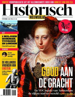 Cover van het vernieuwde Historisch Nieuwsblad