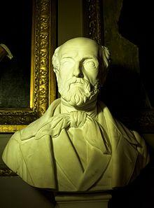 Borstbeeld van Louis de Potter (1830) in de Senaat van België.