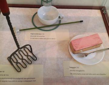 Enkele objecten uit de tentoonstelling
