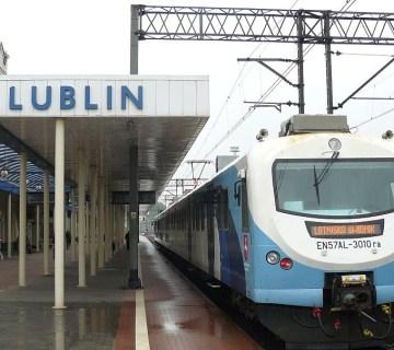 Treinstation Lublin - cc