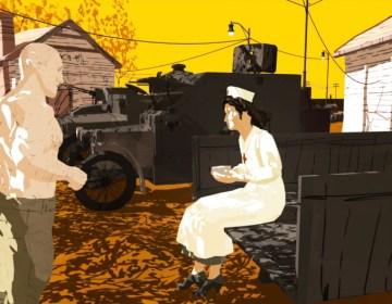 Afbeelding uit de graphic novel