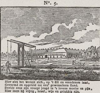 Alexander Cranendoncq, Volksprent uitgegeven door de Maatschappij tot Nut van 't Algemeen, 1850