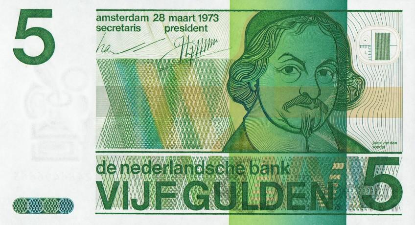 nostalgie bankbiljetten uit het guldentijdperk