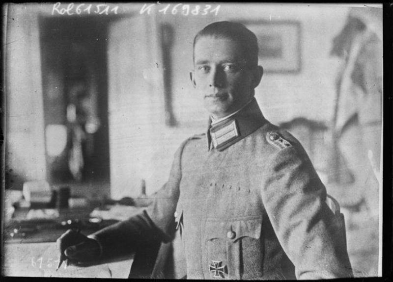 Sigurd von Ilsemann - © Bibliothèque nationale de France - Sigurd von Ilsemann, 1920