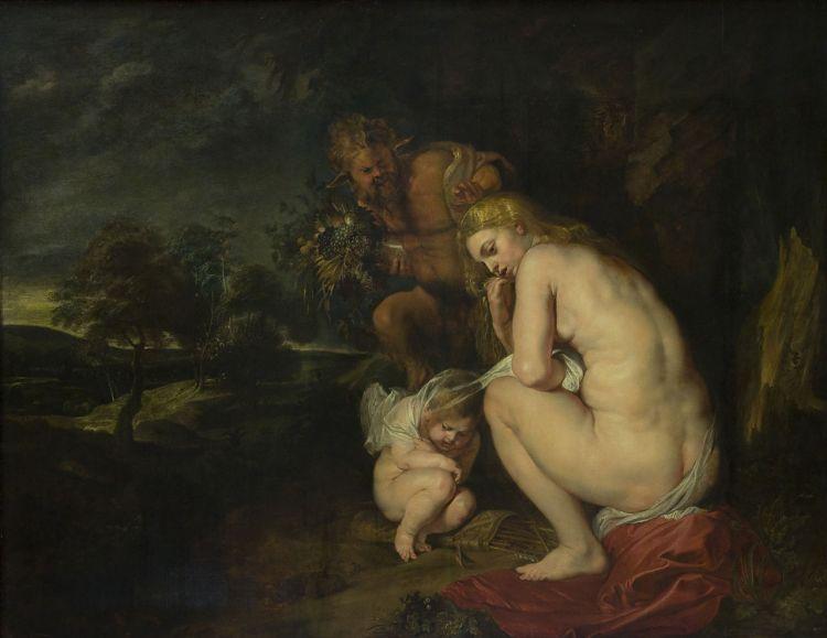 Venus frigida (1611) van Peter Paul Rubens in het Koninklijk Museum voor Schone Kunsten (Antwerpen)