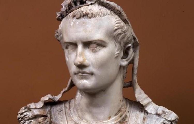 Borstbeeld van keizer Caligula. Bron: www.glyptoteket.com