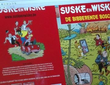 Omslag Suske en Wiske, De bibberende Bosch. Bron: Omroep Brabant