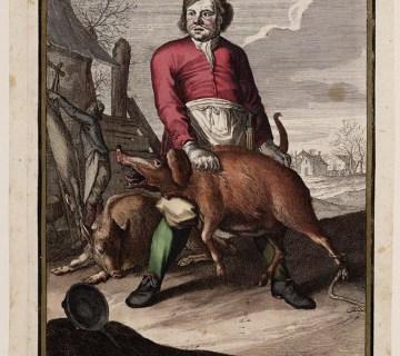 Casper Luyken, December, 1700