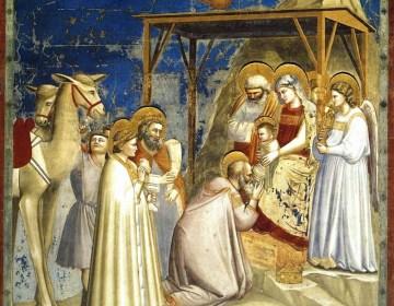 Giotto, Aanbidding der wijzen