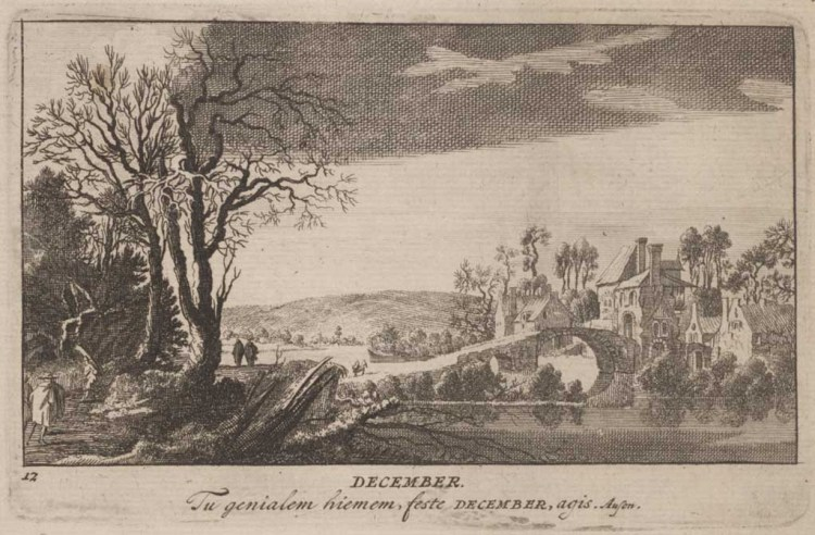 Pieter (I) Schenk, December, 1701