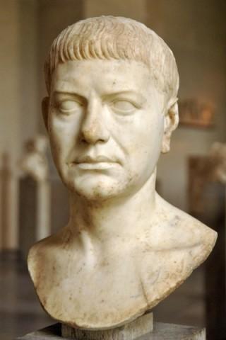 Portret van een Romein, ongeveer 20 n.Chr. (Glyptothek, Munchen)
