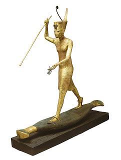 Uit het graf van Toetanachamon: de koning als jager – of is dit een koningin?