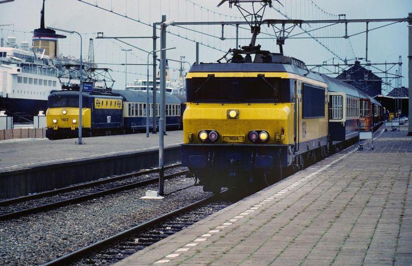 De Nord-West Express naar Scandinavië, 1985 (foto Cornelius Koelewijn)