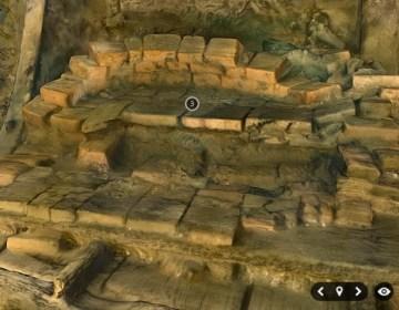 3D-model van een bijzonder middeleeuwse koepeloventje