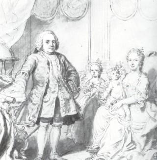 Het gezin van stadhouder Willem IV