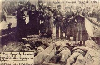 Nabestaanden bij overledenen na de val van Smyrna