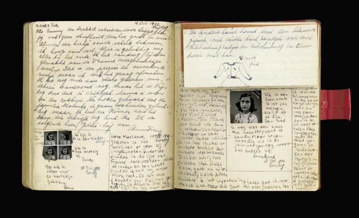 Pagina's uit het dagboek van Anne Frank - annefrank.org