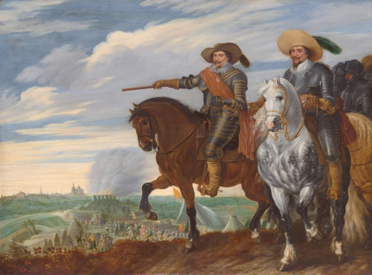 Prins Frederik Hendrik bij de inname van 's Hertogenbosch