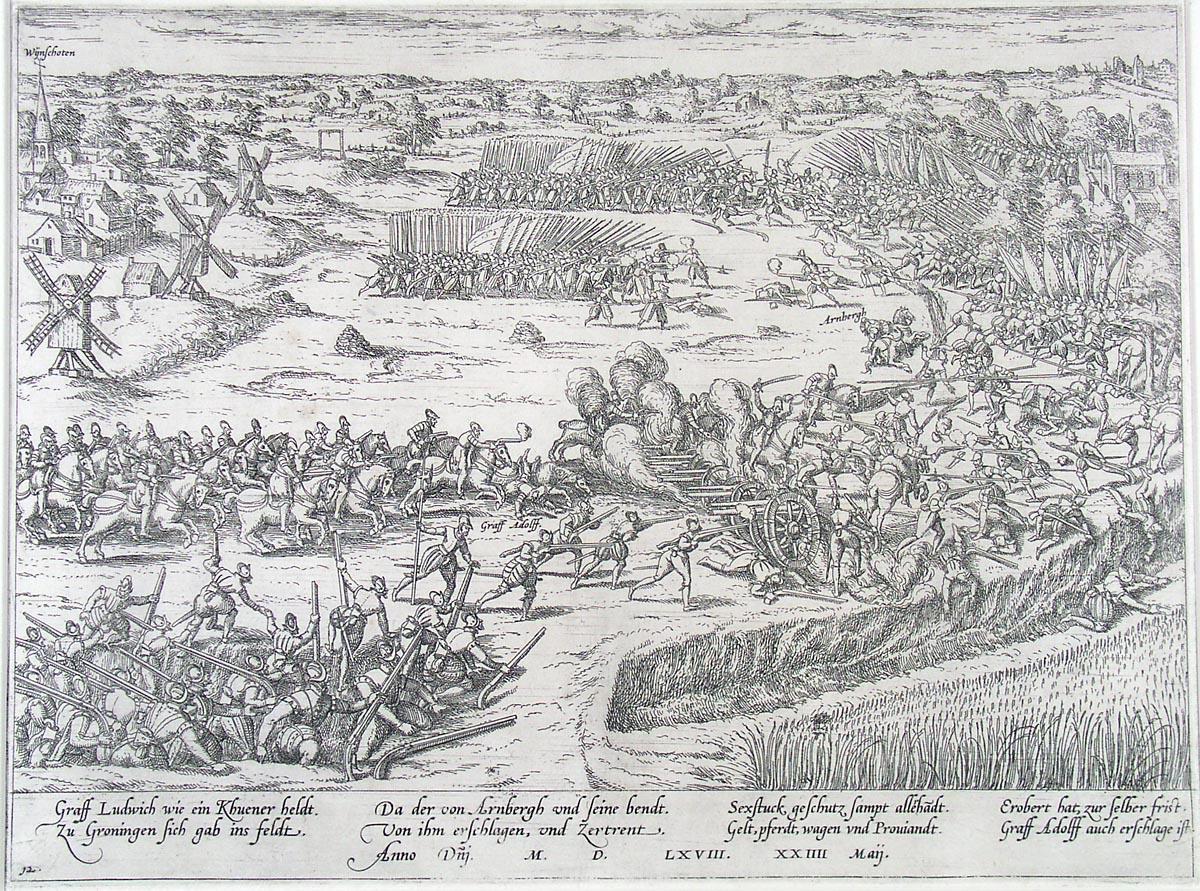 Slag bij Heiligerlee (1568) - Begin van de Tachtigjarige Oorlog