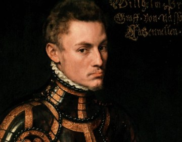 Willem van Oranje geschilderd door Anthonie Mor, omstreeks 1555