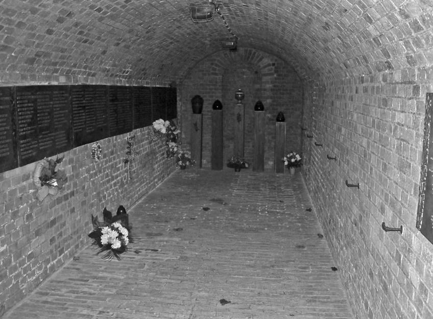 De bunker van Fort VII in Poznań vandaag